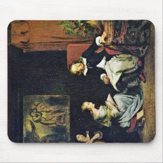 Milton dictó a sus hijas tapetes de raton