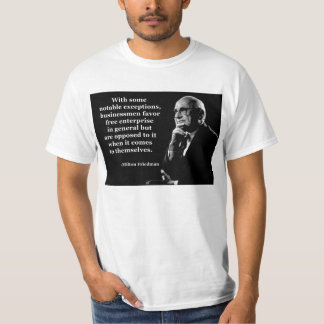 Milton Friedman Crony Capitalism Shirt