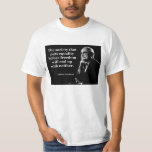 Milton Friedman Equality Freedom Quote Shirt