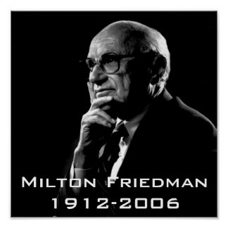 Milton.Friedman, Milton Friedman 1912-2006 Impresiones