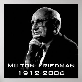 Milton.Friedman, Milton Friedman 1912-2006 Póster