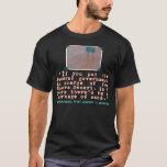 Milton Friedman Quote on Government Efficiency T-Shirt