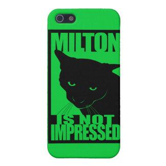 Milton is not Impressed Iphone case. iPhone SE/5/5s Case