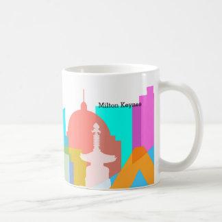 Milton Keynes 2014 skyline mug by Robert Rusin