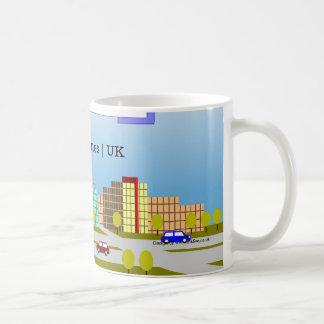 Milton Keynes 2014 skyline tea and coffee mug