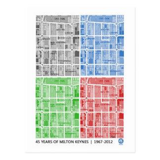 Milton Keynes 45 años… de postal del aniversario
