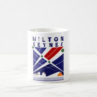Milton Keynes art deco mug