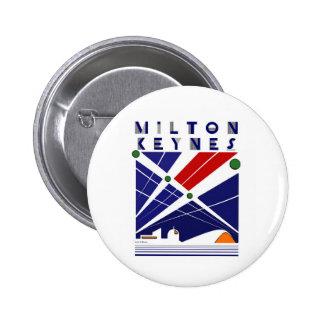 Milton Keynes Pinback Button