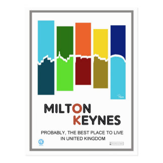 Milton Keynes la mejor postal del lugar