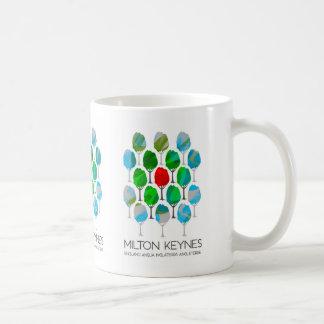 Milton Keynes trees design mug