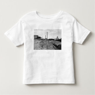 Milton, Oregon View of Town Elevator Photograph Toddler T-shirt