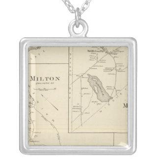 Milton, Strafford Co Collar Plateado