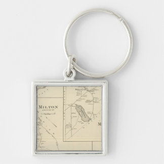 Milton, Strafford Co Keychain