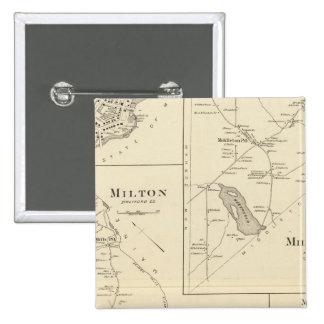 Milton, Strafford Co Pin Cuadrado