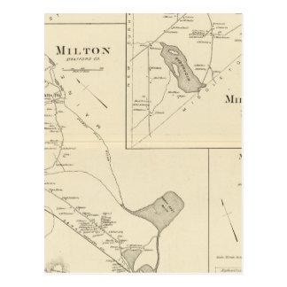 Milton, Strafford Co Postcard