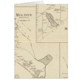 Milton, Strafford Co Tarjeta De Felicitación