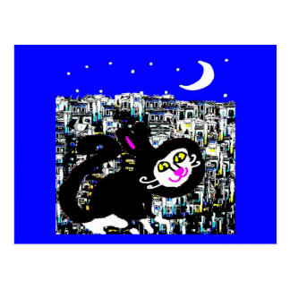 Milton y el paseo del claro de luna tarjeta postal