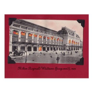 Milton's Grandfather Postcard