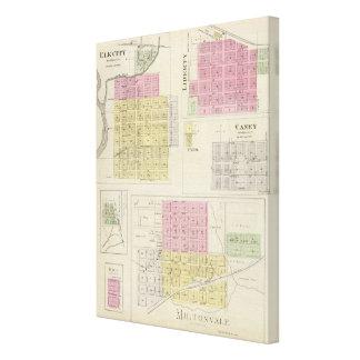 Miltonvale, ciudad de los alces, libertad, Caney,  Impresión En Lona