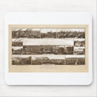 Milwaukee 1882 mouse pad