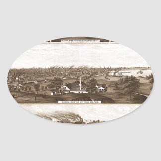 Milwaukee 1882 oval sticker