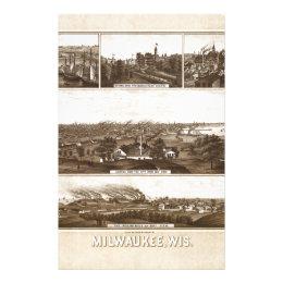 Milwaukee 1882 stationery