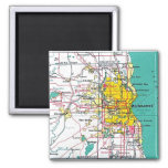 Milwaukee 2 Inch Square Magnet