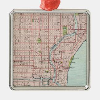 Milwaukee 2 metal ornament