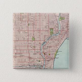Milwaukee 2 pinback button