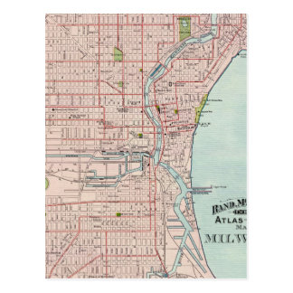Milwaukee 2 post cards