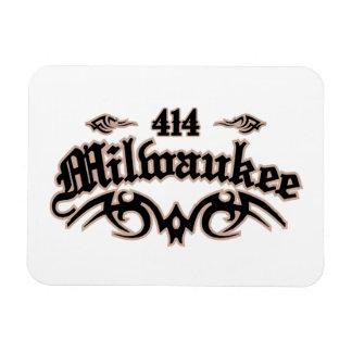Milwaukee 414 imán rectangular