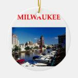 milwaukee adornos de navidad