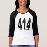 Milwaukee apenado 414 camisetas