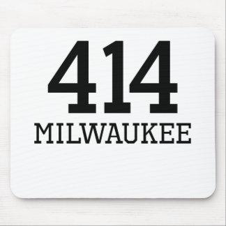 Milwaukee Area Code 414 Mouse Pad