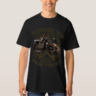 Milwaukee Army WLA the USA motorcycle live t ride  T-Shirt
