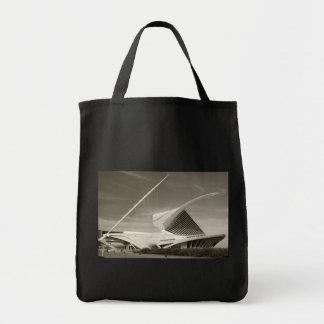 Milwaukee Art Museum, Quadracci pavilion Grocery Tote Bag