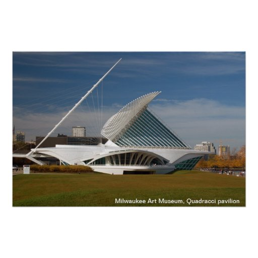 Milwaukee Art Museum, Quadracci pavilion Print