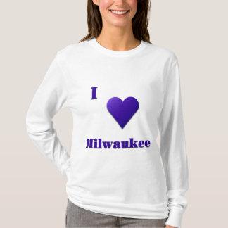 Milwaukee -- Azul de medianoche Playera