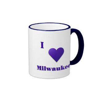 Milwaukee -- Azul de medianoche Taza De Dos Colores
