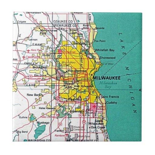 Milwaukee Azulejo Cuadrado Pequeño