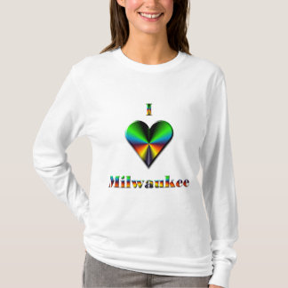 Milwaukee -- Azulverde y anaranjado Playera