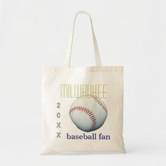 Milwaukee Baseball Fan Tote Bag