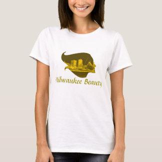 Milwaukee Beauty in Yellow T-Shirt