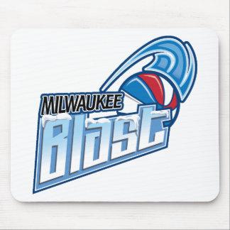 Milwaukee Blast Apparel Mouse Pad