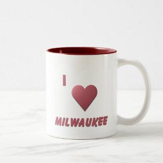 Milwaukee -- Borgoña Taza De Dos Tonos