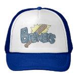 Milwaukee Brewers Baseball Cap Trucker Hat