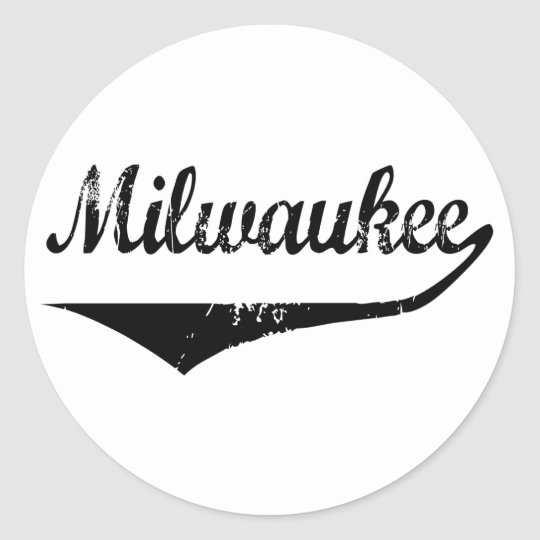 Milwaukee Classic Round Sticker