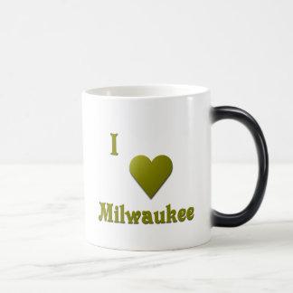 Milwaukee -- De color verde oscuro Taza Mágica
