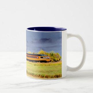 MIlwaukee Express Two-Tone Coffee Mug
