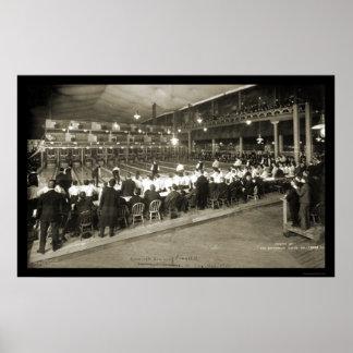 Milwaukee foto que rueda 2 1905 de los WI Posters